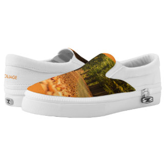 FOLIAGE ZIPZ SLIP ON SHOES US MEN4/US WOMEN 6 PRINTED SHOES