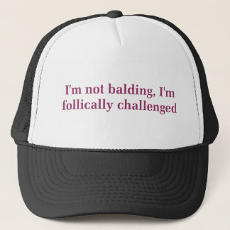 Folically Challenged Hat