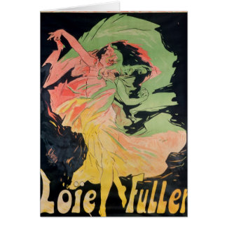 Folies Bergeres: Loie Fuller, France Card