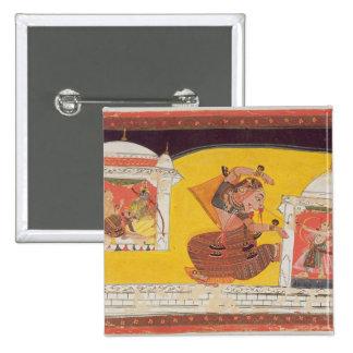 Folio 27 Laksmama cuts the nose of Surpanakha, fro Button