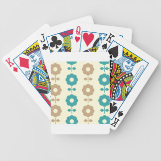 Folk amazing Creative flowers Bicycle Playing Cards