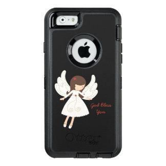 Folk Angel Christian GOD BLESS YOU OtterBox Defender iPhone Case