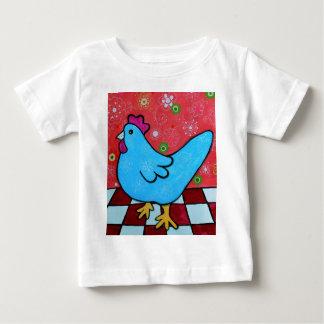 FOLK ART AMERICANA ROOSTER BABY T-Shirt