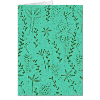 Folk Art Card