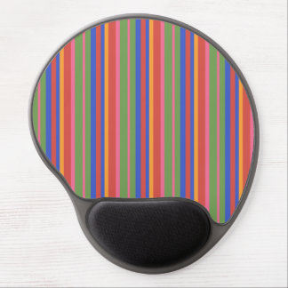 Folk Art Collection Brightly Striped Gel Mousepad