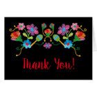 Folk Art Mexican Fiesta thank you note cards