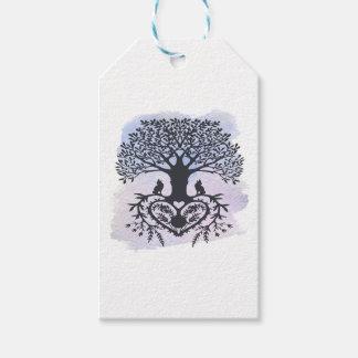 Folk Art Tree of Life Gift Tags
