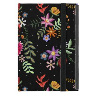 Folk embroidering cover for iPad mini