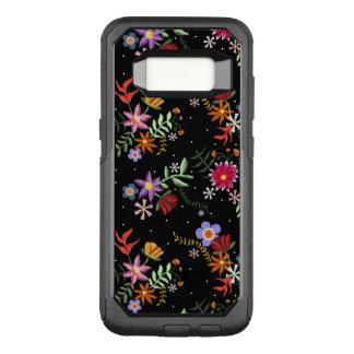 Folk embroidering OtterBox commuter samsung galaxy s8 case
