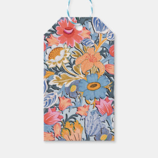 Folk Floral Garden Gift Tags