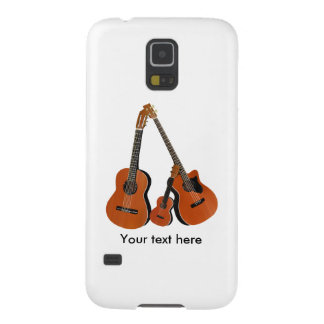 Folk Guitar Acoustic Bass and Ukulele Case For Galaxy S5
