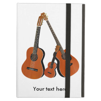 Folk Guitar Acoustic Bass and Ukulele iPad Air Cases