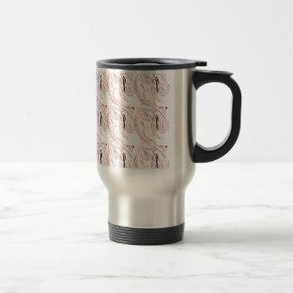 Folk ornaments travel mug