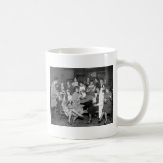 Follies Girls with toys, early 1900s Mug