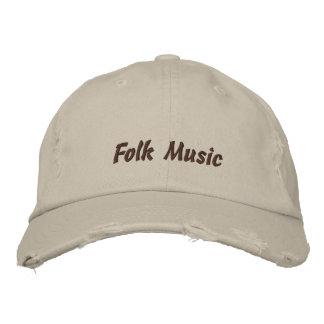 Follk Music Baseball Cap