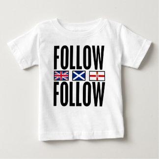 Follow Follow 3 Flags Baby T-Shirt