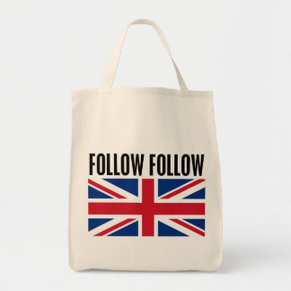 Follow Follow Grocery Tote Bag