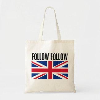 Follow Follow Budget Tote Bag