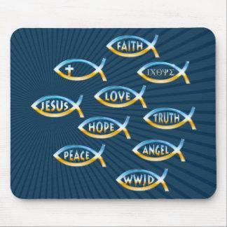 Follow Him - Christian Mousepad