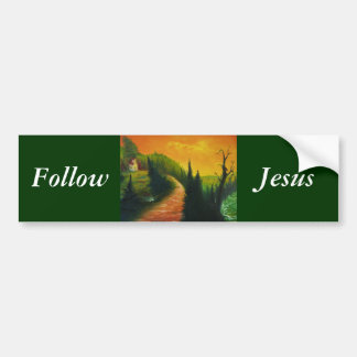 Follow Jesus Bumper Sticker