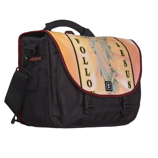 Follow Jesus Laptop Commuter Bag