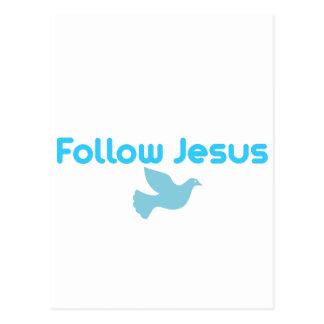FOLLOW JESUS POSTCARD