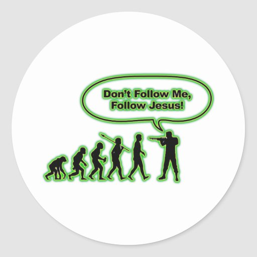 Follow Jesus Sticker