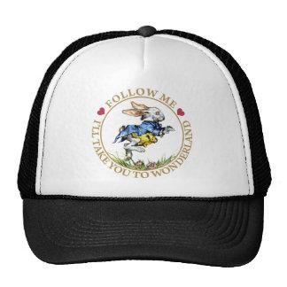 Follow me - I'll take you to Wonderland! Trucker Hats