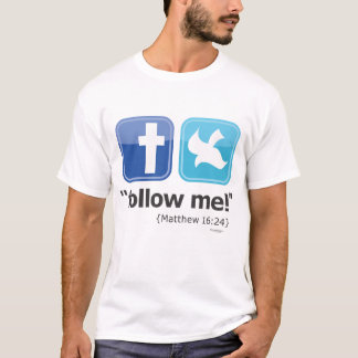 """follow me!"" Men's Social T-Shirt (Light)"