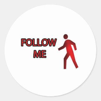 Follow Me Sticker
