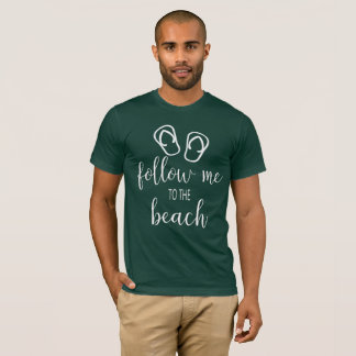 Follow Me to The Beach Summer Fun Tank