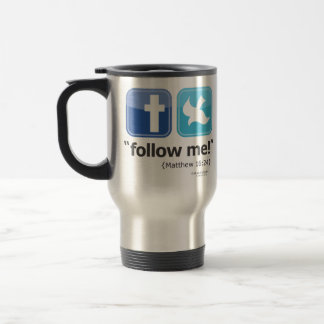 follow me Travel Commuter Mug