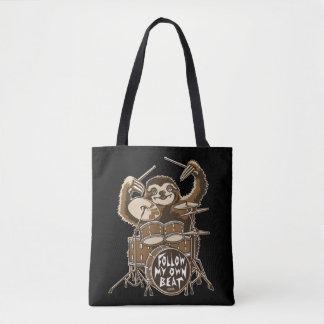 Follow my own beat tote bag