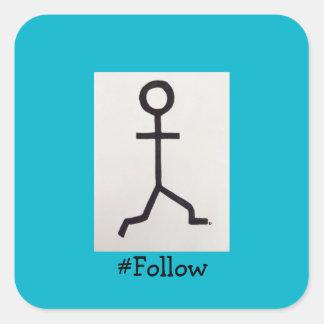 #Follow Stickers