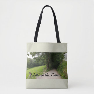 Follow the Camino Tote Bag