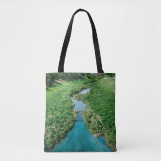 Follow the flow tote bag