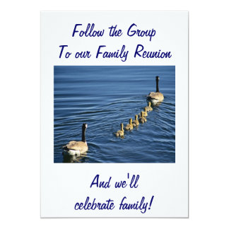 FOLLOW THE GROUP TO FAMILY REUNION CARD