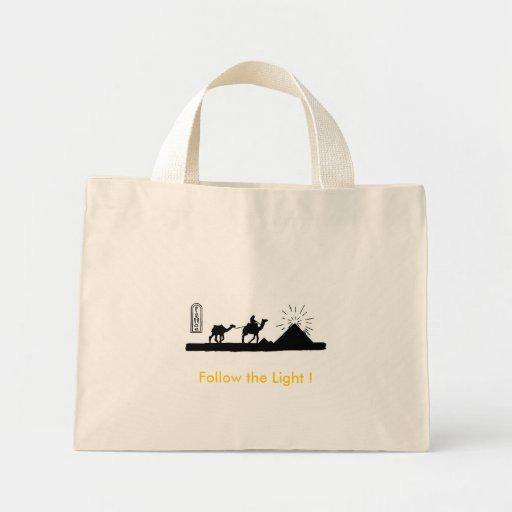 Follow the Light ! Tote Bag