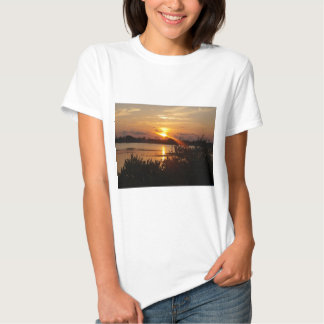 Follow the light home t shirts