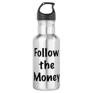 Follow the Money 532 Ml Water Bottle