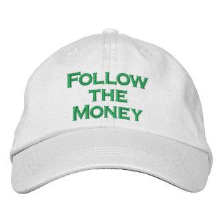 Follow the Money Baseball Cap