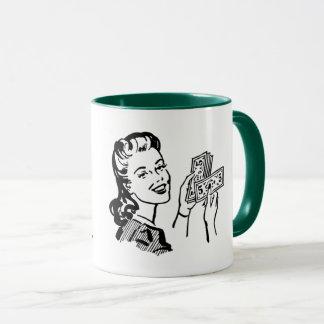 Follow The Money Covfefe Mug