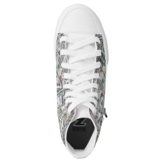 Follow the Money High Top Unisex Sneaker