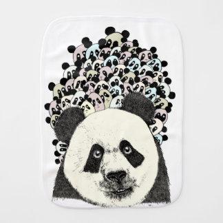 Follow The Panda Burp Cloth