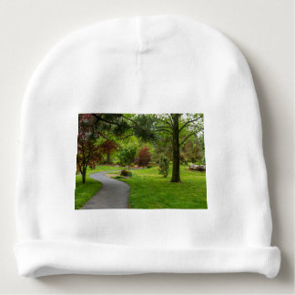 Follow The Path Pano Baby Beanie