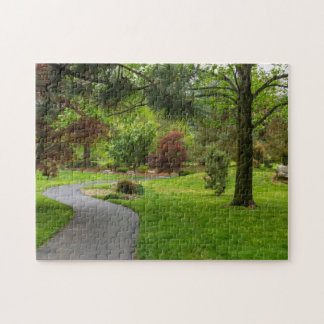 Follow The Path Pano Jigsaw Puzzle