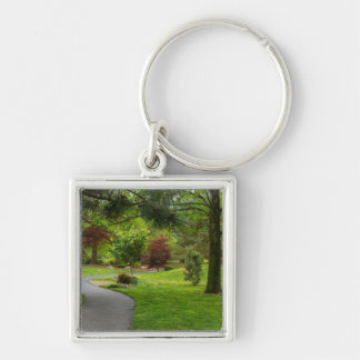 Follow The Path Pano Key Ring