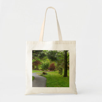 Follow The Path Pano Tote Bag