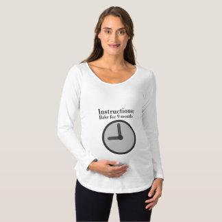 Follow the Recipe Maternity T-Shirt