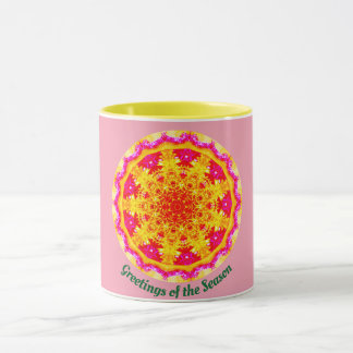 Follow the Star Fractal Mug